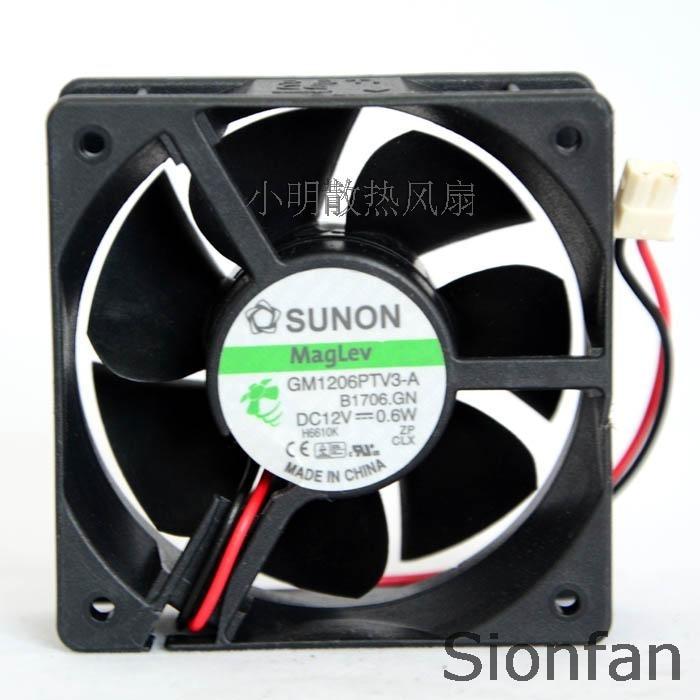 Для оригинального SUNON встроенного стандарта 6025 12 В 0,6 Вт Ультра тихий вентилятор GM1206PTV3-A B1706.GN тестовая работа