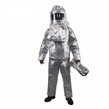 Heat Insulation Firefighting Multifunction Fire Resistant Clothing Industrial Proximity Suit