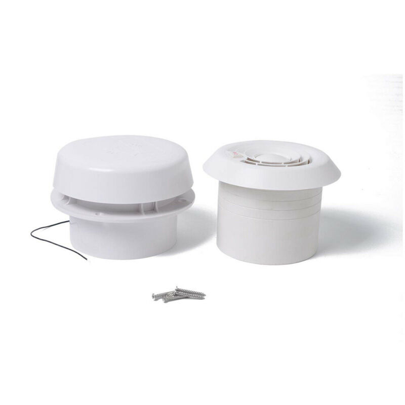 1pcs 12V Silent Mute Fan Top Mounted Circular Vent Multifunctional Mushroom Head Durable And Well Made