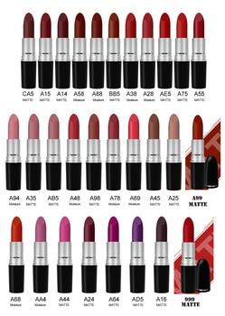 29pcs/lot MYG makeup 29 lipsticks different colors matte Moisturize waterproof red naked lipstick