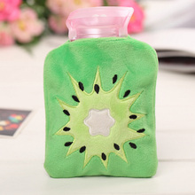 Cartoon Fruit Hand Warmer Washable Hot Water Bottle Cute Plush Warm Bag