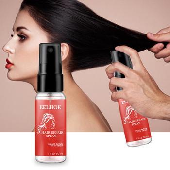 1pc Spray do naprawy włosów poprawia gładkość włosów i połysk pielęgnacja włosów Anti-frizz utrata włosów włosy jedwabny połysk naprawa oleju TSLM1 tanie i dobre opinie ibcccndc CN (pochodzenie) 30 ml Hair Repair Spray 1Pcs oil liquid Leczenie włosów i skóry głowy Dropshipping Wholesale