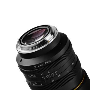 Image 4 - KamLan 50 مللي متر f1.1 II APS C عدسة كبيرة التركيز اليدوي عدسة لكاميرات عديمة المرآة عدسة الكاميرا لكانون سوني فوجي