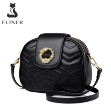 FOXER Mini Women Bag Ladies High Quality Purse Women Brand Leather Chic Crossbody Bag Female Shoulder Bag Valentine's Day Gift