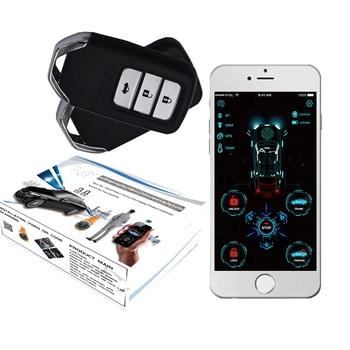 cardot 4g gps gsm Pke Keyless Entry Remote Starter Smart Start Stop Engine Car Alarm