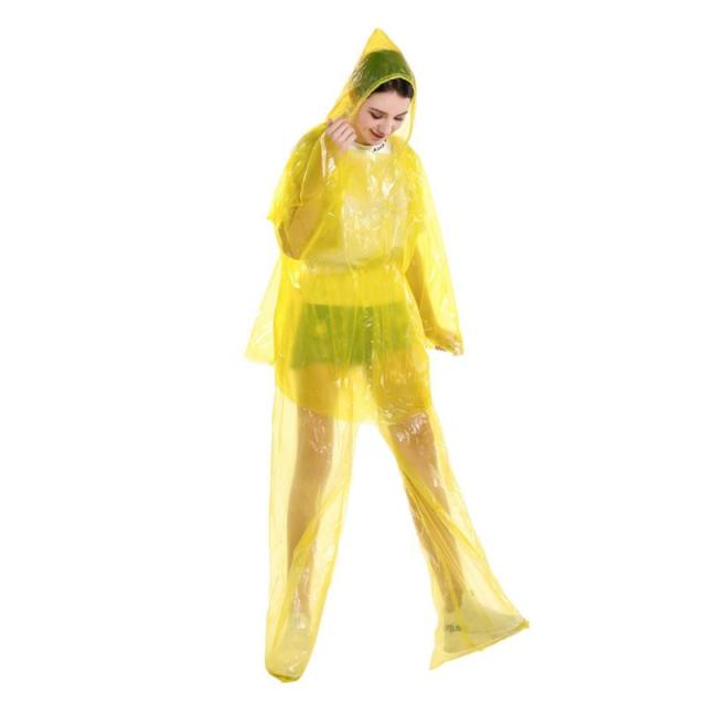 Disposable Waterproof Gown Anti-contact Clothes Raincoat Rainproof PPE protective suit Anti-Viruses  Hazmat Suit Protective Suit 2