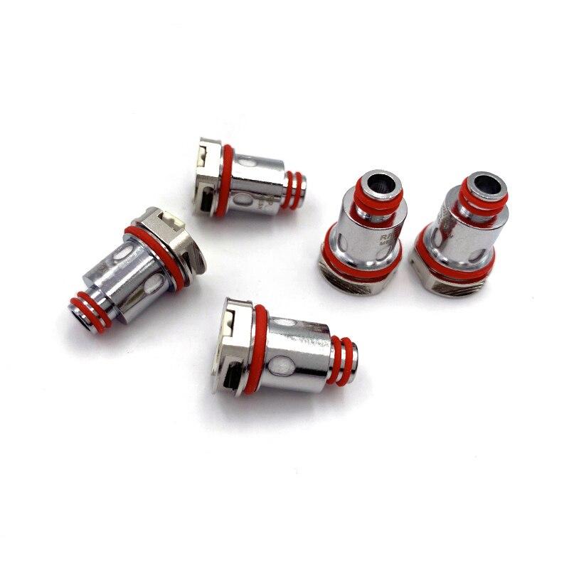 5pcs/box RP40 Coil 0.6ohm Mesh M40 DC 0.6ohm 1.4ohm Ceraimic Pod Replacement Coils Head