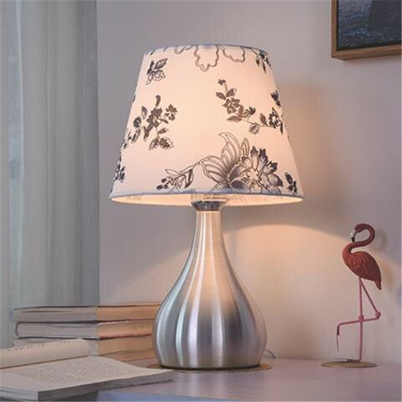 7 Styles Bedroom Table Lamp Romantic Warm Bedside Light Night Living Room Study Room Lampara De Mesa Led Table Lamps Aliexpress