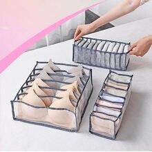 Caja de almacenamiento de ropa interior con compartimentos, organizador de sujetadores, cajones, caja con división, divisor de cajón de armario