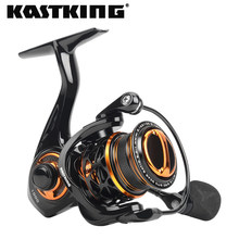 KastKing – moulinet de pêche Zephyr ultraléger, système de Finesse d'appât, corps en Fiber de carbone 7 + 1, roulement à billes en acier inoxydable