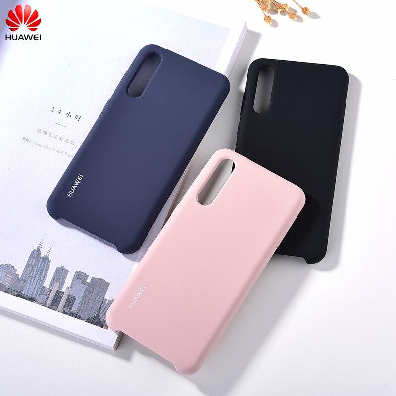 Оригинальный силиконовый чехол для Huawei P20 pro, мягкая сенсорная защита, задняя крышка для HUAWEI P20 pro/P20 Plus, чехол для телефона с экраном 6,1 дюйма