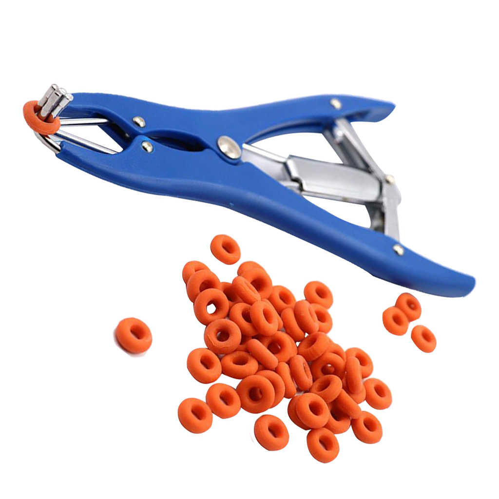 All In One Lamb Calf Castrator Tail Docker Tool Ear Marker Castration