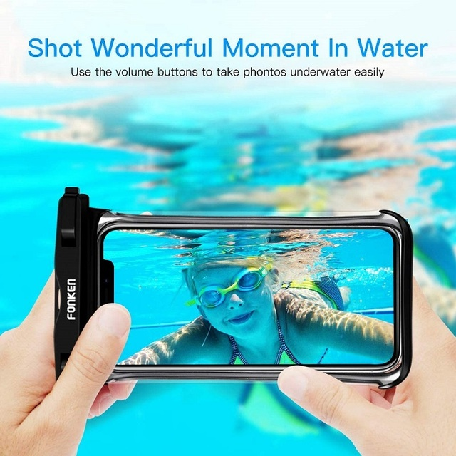 FONKEN Waterproof Phone Case For Iphone Samsung Xiaomi Swimming Dry Bag Underwater Case Water Proof Bag Mobile Phone Pouch Cover 4