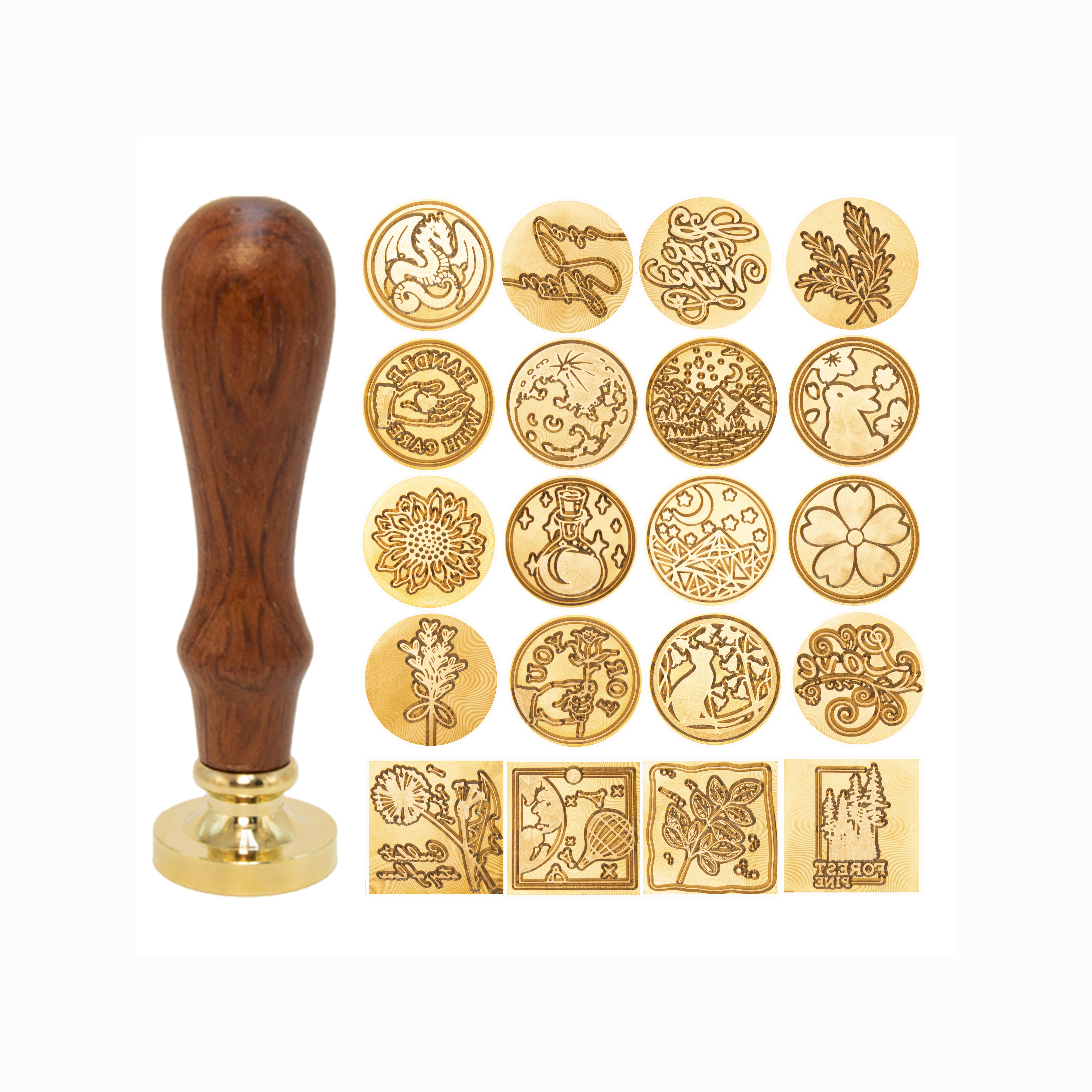 Style 023  1 pece Wax Seal Stamp dream galaxy  Metal Stamp  Wedding Wax Seal Stamp  Sealing Wax Stamp wood handle sealing stamps