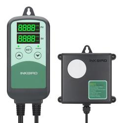 INKBIRD ICC-500T Digital CO2 Controller Programmable CO2 Controller&Monitor for Agricultural Livestock Industries Ventilation