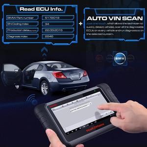 Image 3 - Autel Maxicom MK808BT OBD2 Scanner Auto Diagnostic Tool Diagnose Functies Van Epb/Immo/Dpf/Sas/Tmps pk Launch X431 MK808TS