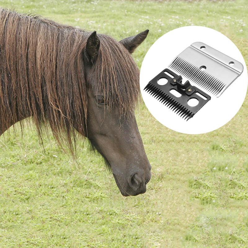 2 Pcs Medium Horse Hair Clipper Cutter Clipping Compatible Wolseley Liscop Liveryman  THJ99