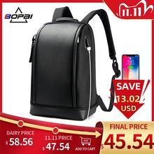 BOPAI sac à dos pour le travail de bureau, en forme de coque, chargeur USB, sac de travail, Cool, à bandoulière, pour le travail
