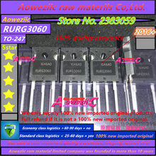 Aoweziic 2016 + 100% ใหม่นำเข้าเดิม RURG3060 G3060 247 Fast การกู้คืน 30A 600V