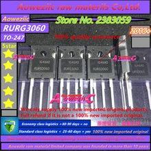 Aoweziic 2016 + 100% 신규 수입 원본 RURG3060 G3060 TO 247 고속 복구 다이오드 30A 600V