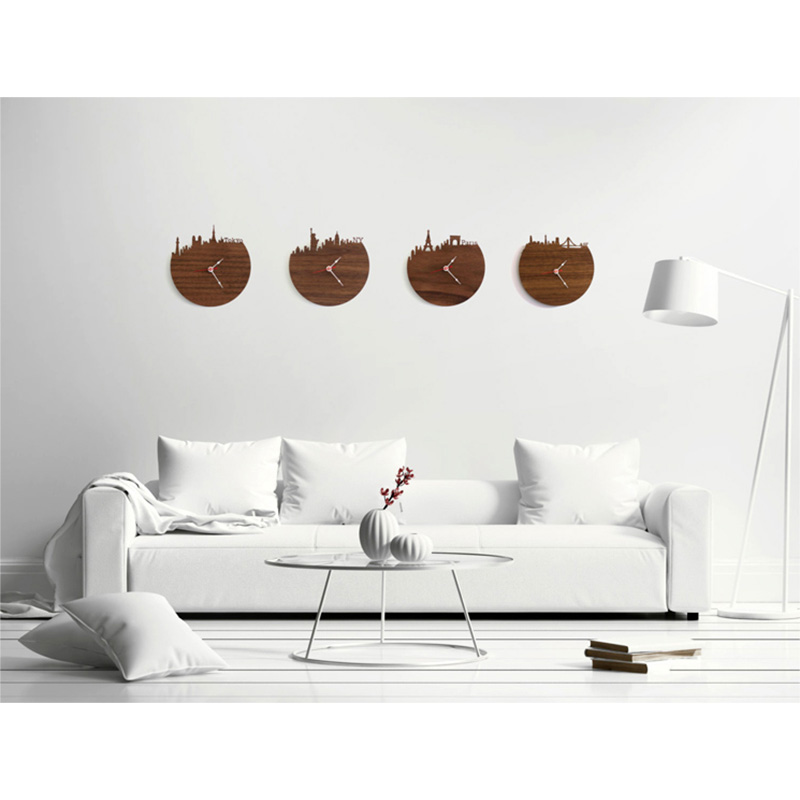 Furniture - Washington Natural Bamboo Wall Clock