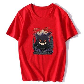 Gengar Kaiju Japan Style Pokemon T-Shirt Men's T-Shirt Cotton Short Sleeve O-Neck Tops Tee Shirts Fashion 2019 4