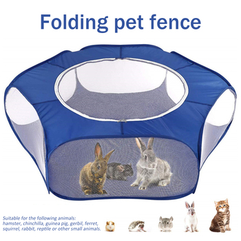 Pet House For Dog Cat Tent Folding Kennel Dog Fence Rabbit Cage Pet Playpen Outdoor Indoor Game For Small Animals Puppy Kitten