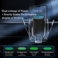 15W Fast Car Wireless Charging Holder Qi Car Charger Cellphones & Telecommunications