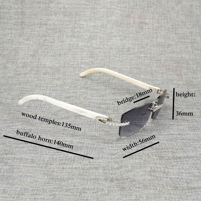 Новые фирменные дизайнерские мужские Квадратные Солнцезащитные очки негабаритных солнцезащитных очков прозрачные металлические золотые ... - 6