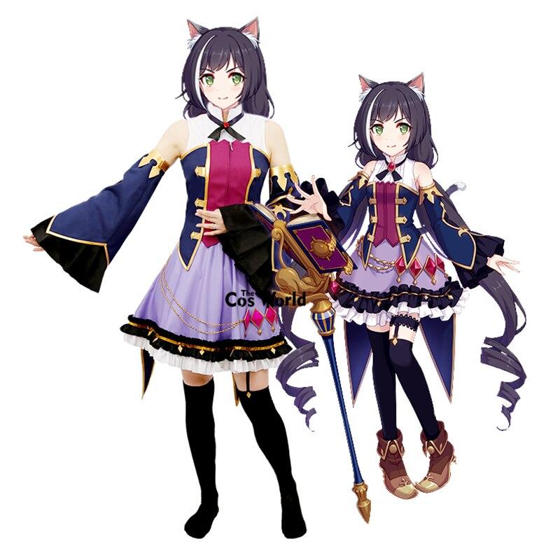 Princess Connect! Re:Dive Kyaru Momochi Kiruya Dress Uniform Outfit Anime Cosplay Costumes