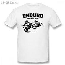Мужская футболка Enduro-внедорожник-Мотокросс (1) футболки для женщин и мужчин-футболка