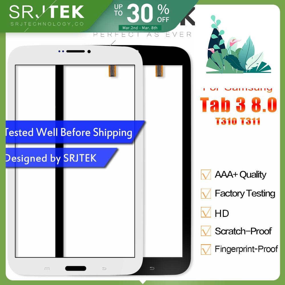 Srjtek 8.0 Touchscreen For Samsung Galaxy Tab 3 8.0 T310 T311 SM-T310 SM-T311 Touch Screen Digitizer Sensor Tablet PC Parts