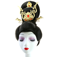 shaped princess hair products ancient dynasty empress hair accessories halloween cosplay supplies fairy movie Tv PLAY
