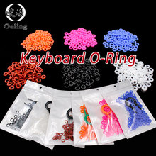 110pcs Keycaps O Ring Seal Keyboard O-ring Switch Sound Dampeners For Cherry MX Damper Replacement Noise Reduction