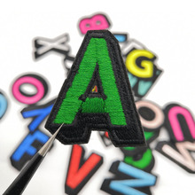 26Pcs Cartoon Iron On Letters Patches For Clothes Set T-Shirt Decoation Washable High Quality Patch Engligh Embroidery