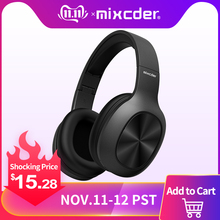 Mixcder Bluetooth Headphones Earbuds Foldable Wireless with Tf-Card