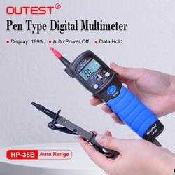 HoldPeak Ручной Подсветка ЖК-дисплей Ручка Тип Цифровой мультиметр DC/AC Измеритель напряжения сопротивление Диод Непрерывность тестер