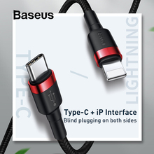 Baseus 18W Quick Charge PD Cable for iPhone USB Type C to fo