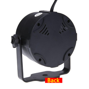Image 2 - เสียงเปิดใช้งานปาร์ตี้พร้อมรีโมทคอนโทรล DJ Lighting,RGB DISCO Ball Light,strobe โคมไฟ 7 โหมด STAGE PAR Light สำหรับ Home