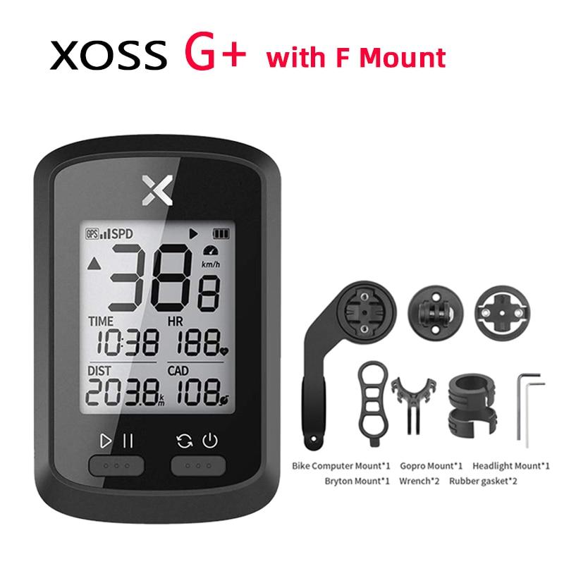 XOSS G GPS Bike Cycyling Computer Waterproof IPX7 Bluetooth 4.0 ANT+  Digital Cadence Speed Heart Rate Backlight Speedometer