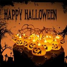 25 м Солнечный powerd Тыква струнный светильник для Хэллоуина