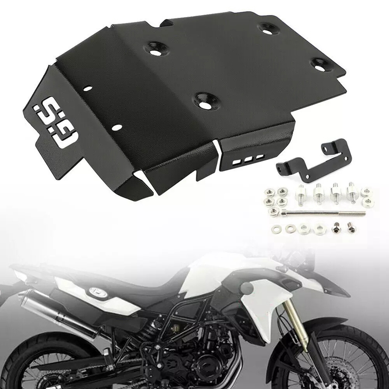 NEW-Motorcycle Engine Guard Protector Skid Plate for BMW F800GS F650GS F700GS 2008-2017