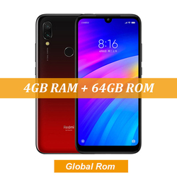 Wersja globalna Xiaomi Redmi 7 Smartphone 4GB pamięci RAM 64GB ROM octa-core 12MP Dual AI kamery 4000mAh 4G LTE telefon US wtyczka 6