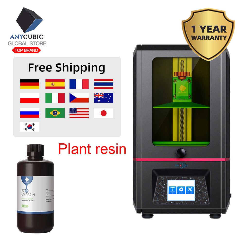 Impresora 3D de resina de fotones ANYCUBIC módulo UV de corte rápido de doble eje Z Impresora 3d
