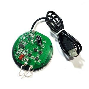 Image 2 - 2CM QI kablosuz şarj PCBA devre kartı DIY Samsung S20 S10 S9 Note10 iPhone XR XS 11 Pro max 10W hızlı kablosuz şarj