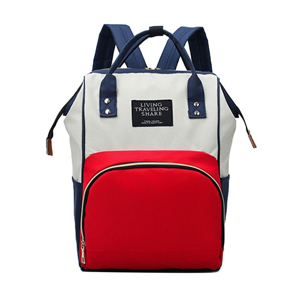 Retail Mummy Bag Stylish Korean Version Bag Lady Diaper Bag Multi-functional Mother And Baby Bag