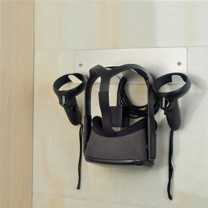 Image 5 - Wall Mount Bracket for Oculus Quest Rift Rift S for HTC Vive/Vive Pro for Valve Index VR Headset Storage Stand Universal Holder