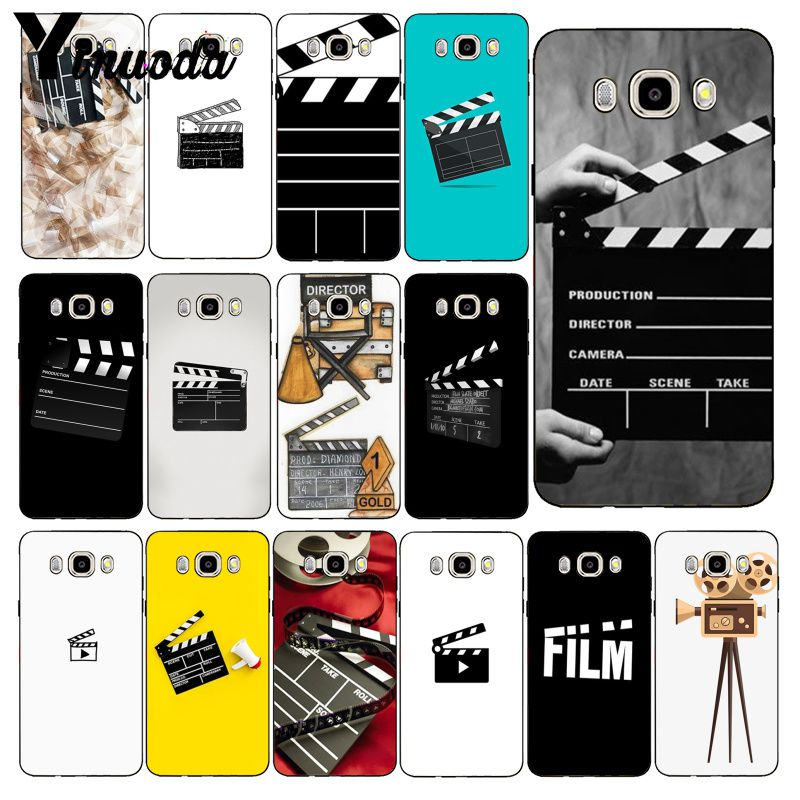 Yinuoda Film Movie Clapperboard Clapper <font><b>Board</b></font> Phone Case For Samsung Galaxy J7 J6 J8 J4 J4Plus J7 DUO J7NEO J2 J5 Prime image