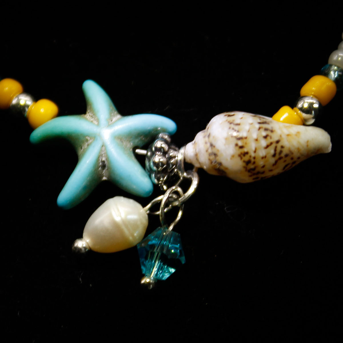 Hot Promo 33b3 Fashion Conch Starfish Anklet Foot Chain