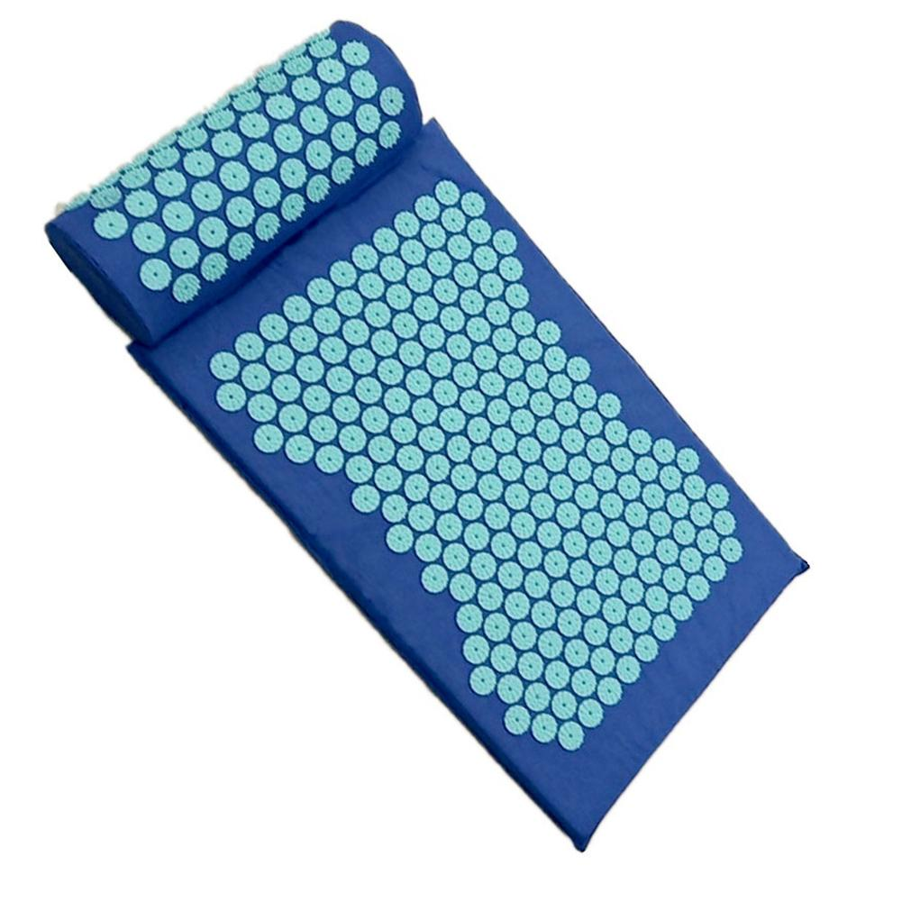 Acupressure Massage Mat including Pillow Sets to Relieve Stress and Back Pain with Spike 14